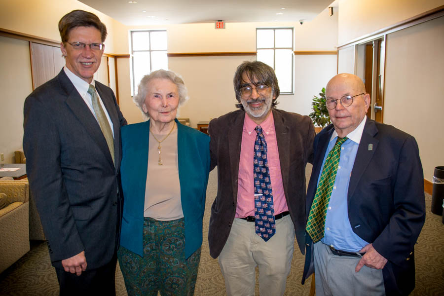 Professor Amar gathers with Dean Toben and colleagues for a group photo