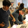 Baylor Class Provides Opportunities for Hands-on Learning with Laparoscopic Training Boxes