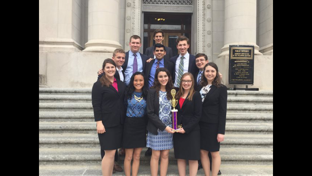 2017 mock trial team