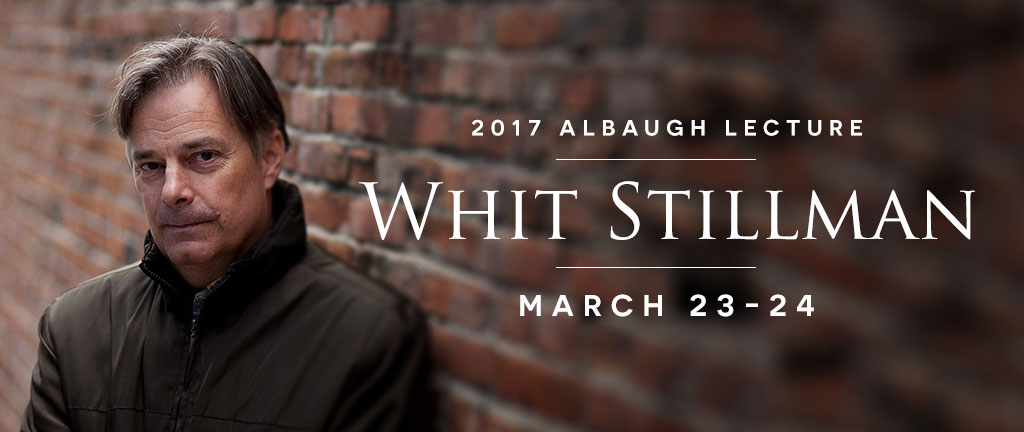 2017 Albaugh Lecture with film writer and director Whit Stillman