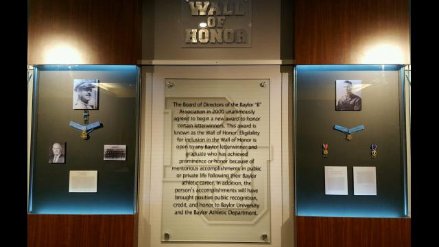Medal of Honor Letterwinners