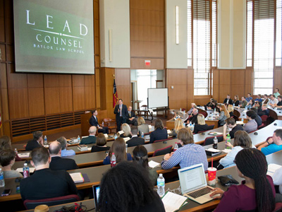 LEAD Counsel Inspires at Baylor Law's Inaugural Making a Difference Conference