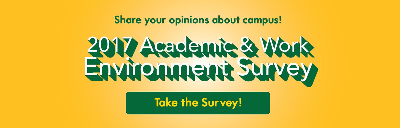 AcademicWorkEnvironmentSurvey