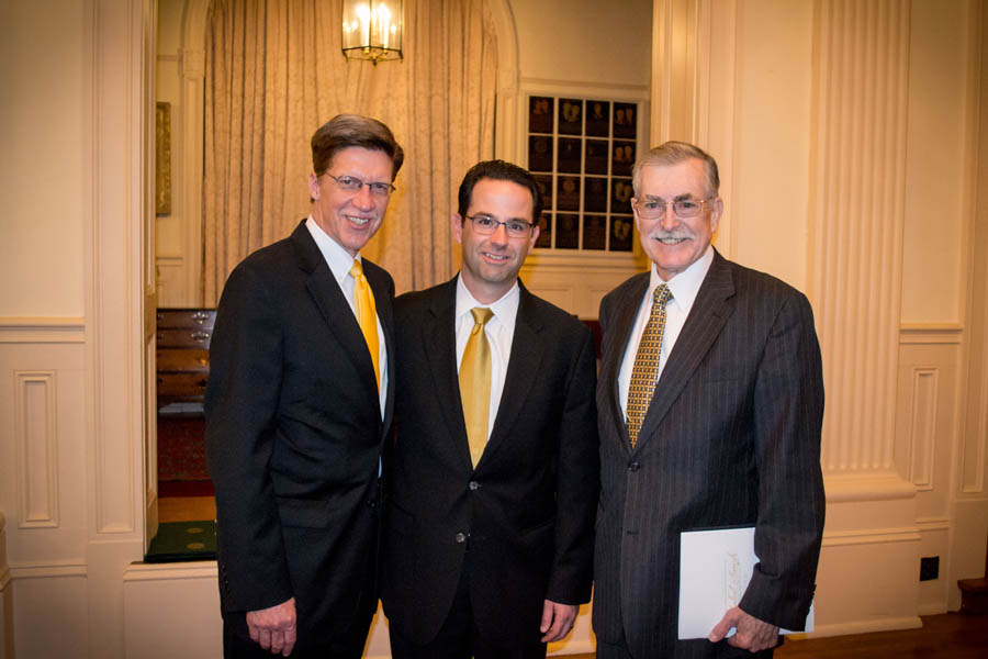A photo of Dean Toben, Anthony Bruster, and William McLeRoy