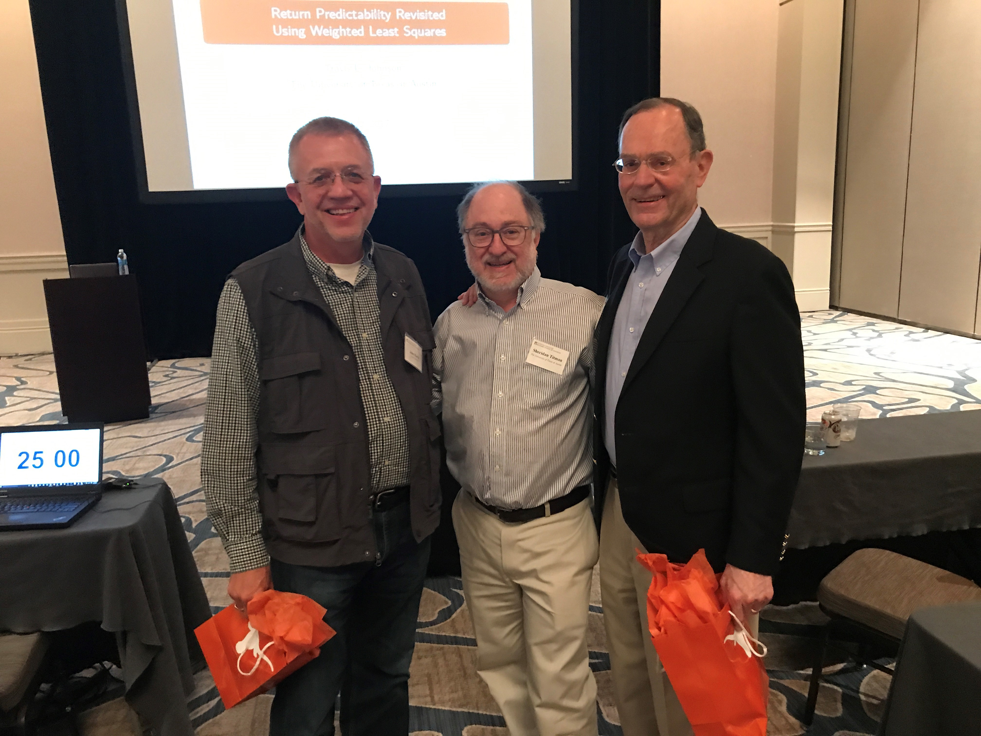 Bill and John honored at conference
