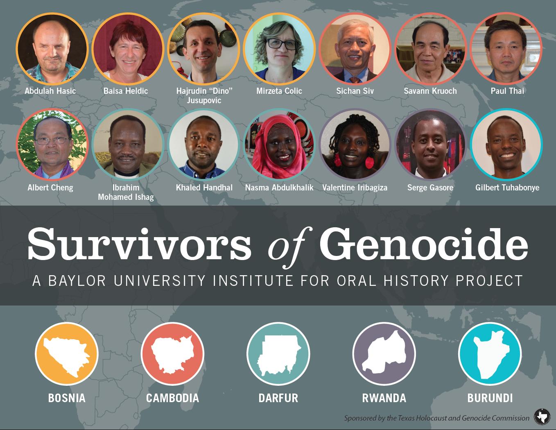 Survivors of Genocide graphic
