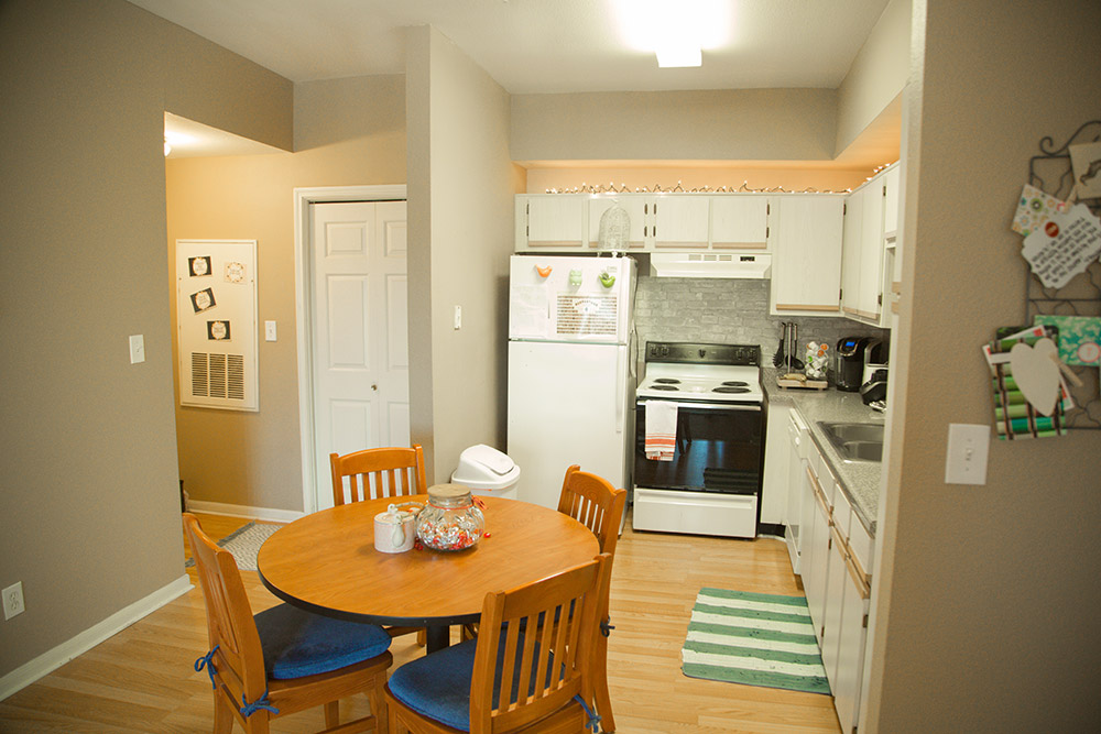 Two Bedroom Apartment-Kitchen