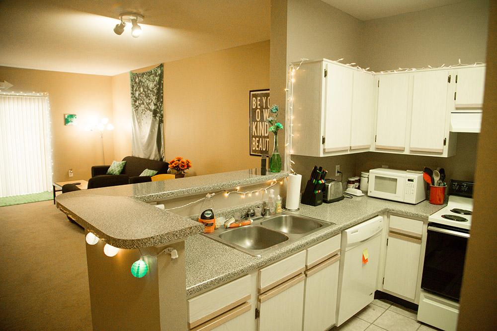 4 bedroom Apartment- kitchen