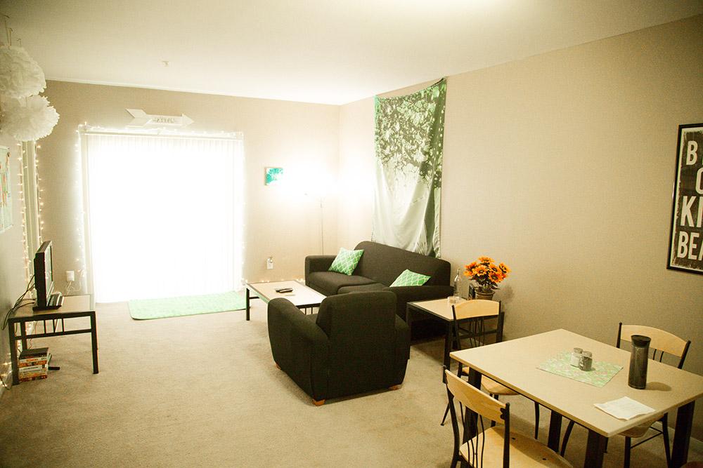 4 bedroom apartment-living room 2
