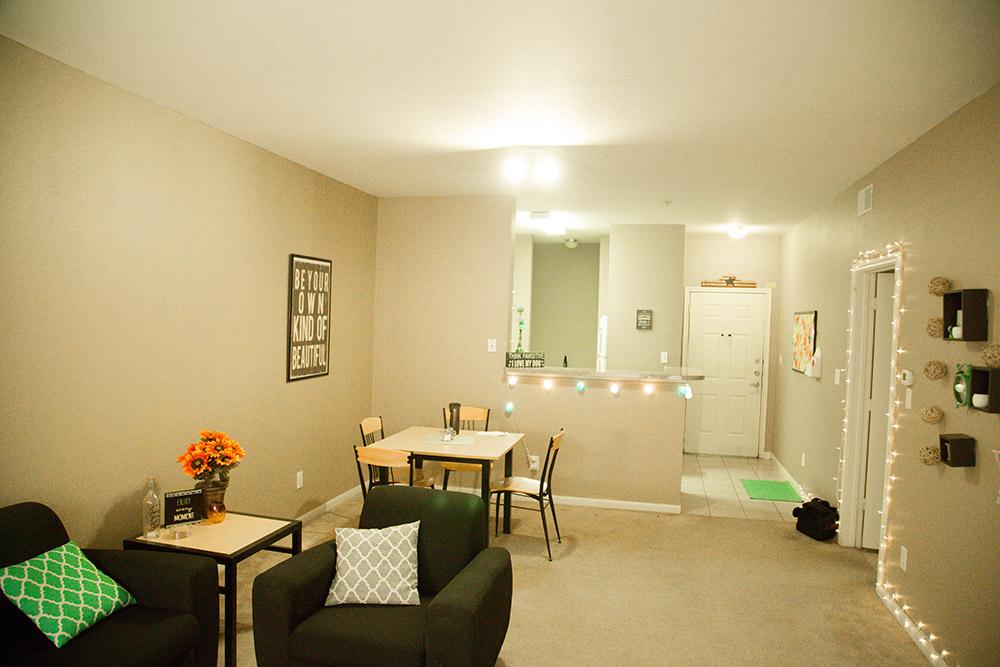 4 bedroom apartment-Living room 3