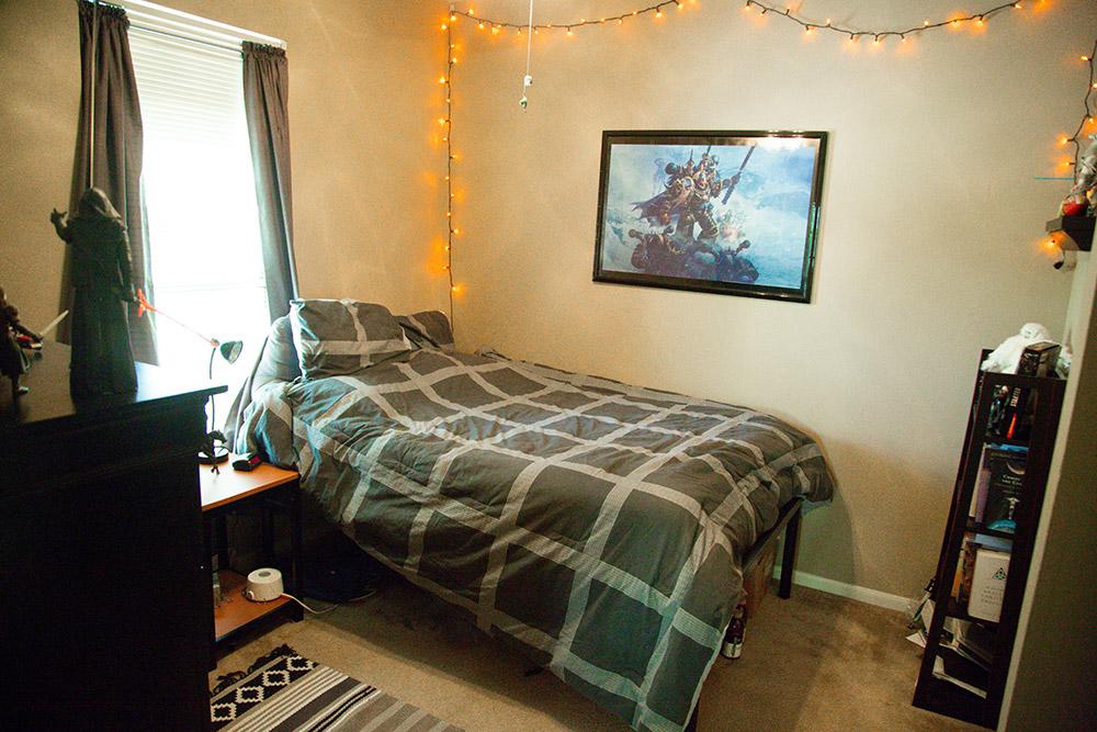 3 bedroom apartment-bedroom