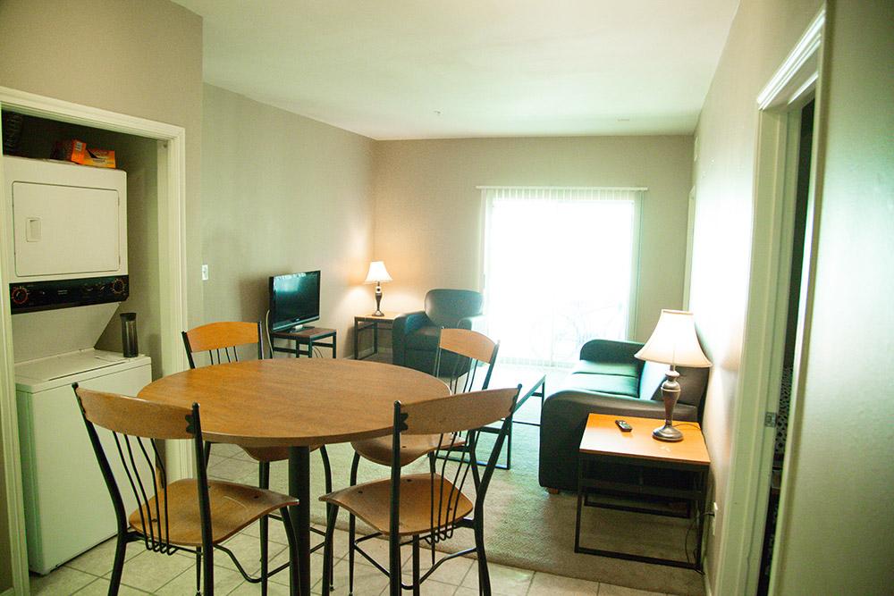3 bedroom Apartment-Living room