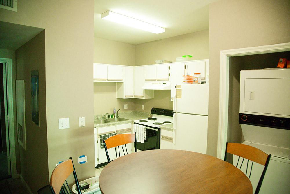 3 Bedroom Apartment-Kitchen