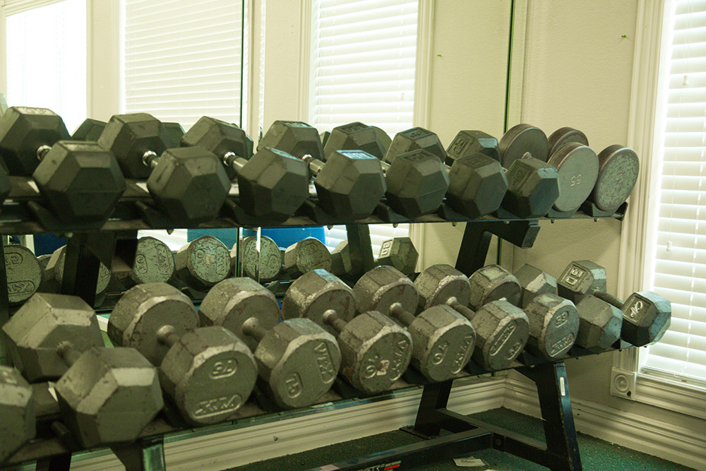 UParks Weight Room