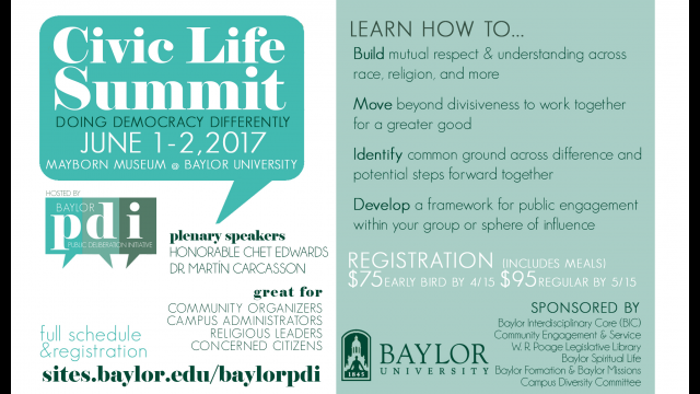 Civic Life Summit
