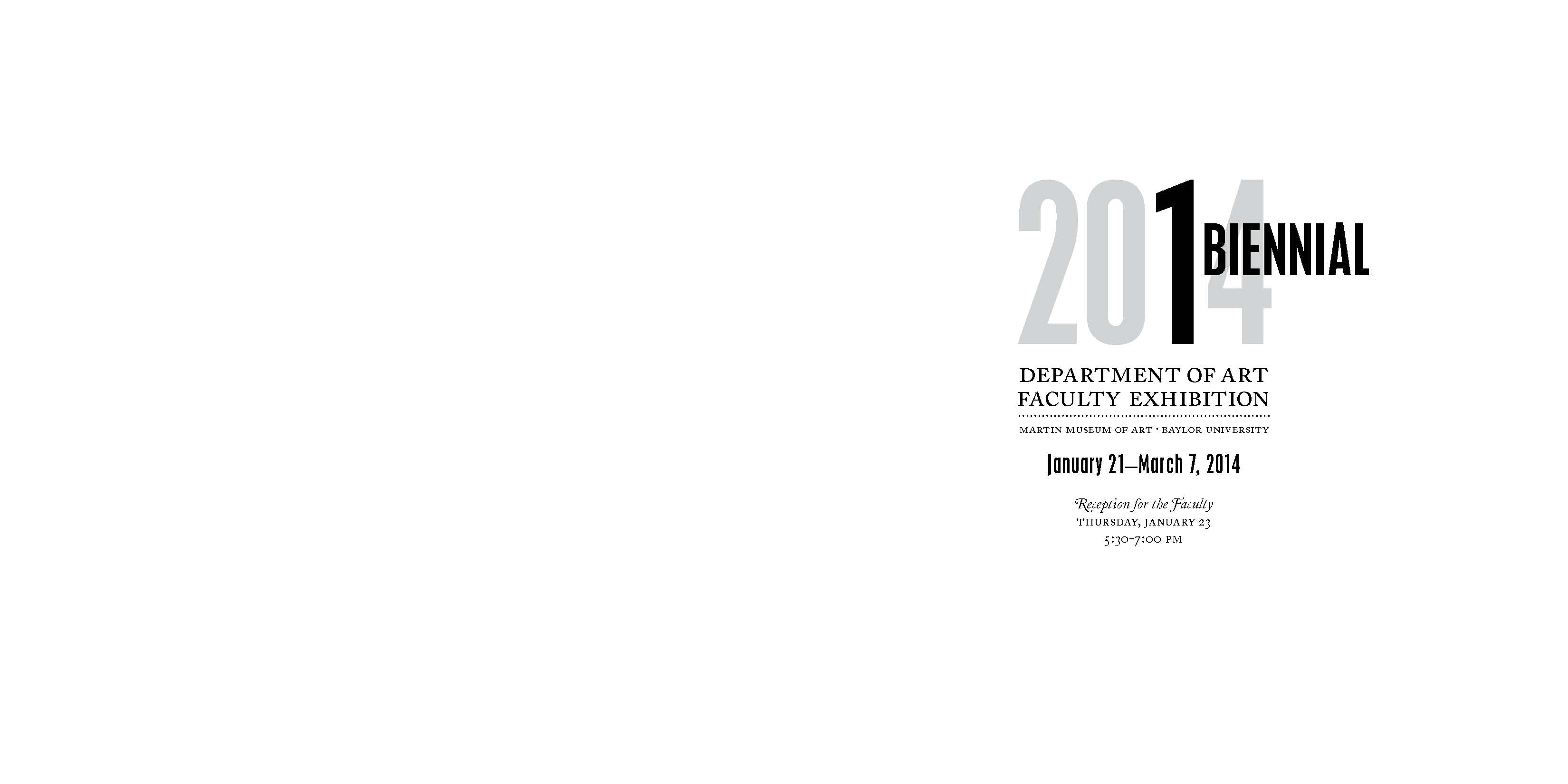 2014 Dept of Art Faculty Biennial Exhibition Catalog_Page_02