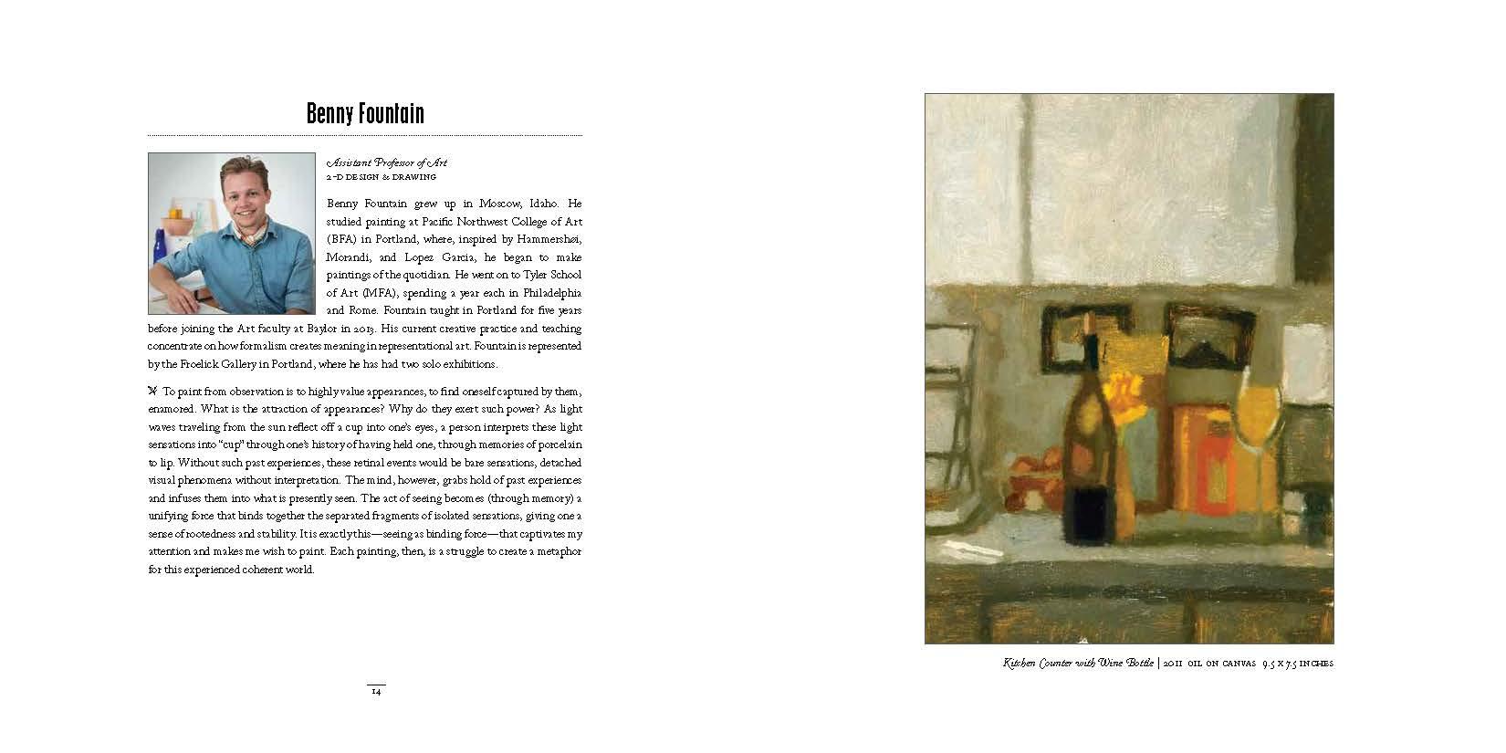 2014 Dept of Art Faculty Biennial Exhibition Catalog_Page_08