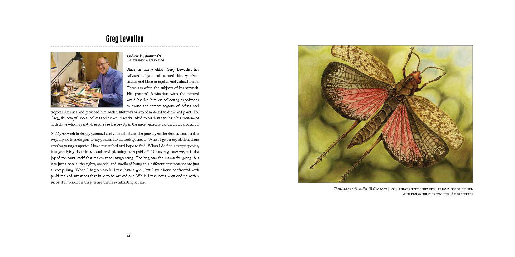 2014 Dept of Art Faculty Biennial Exhibition Catalog_Page_14