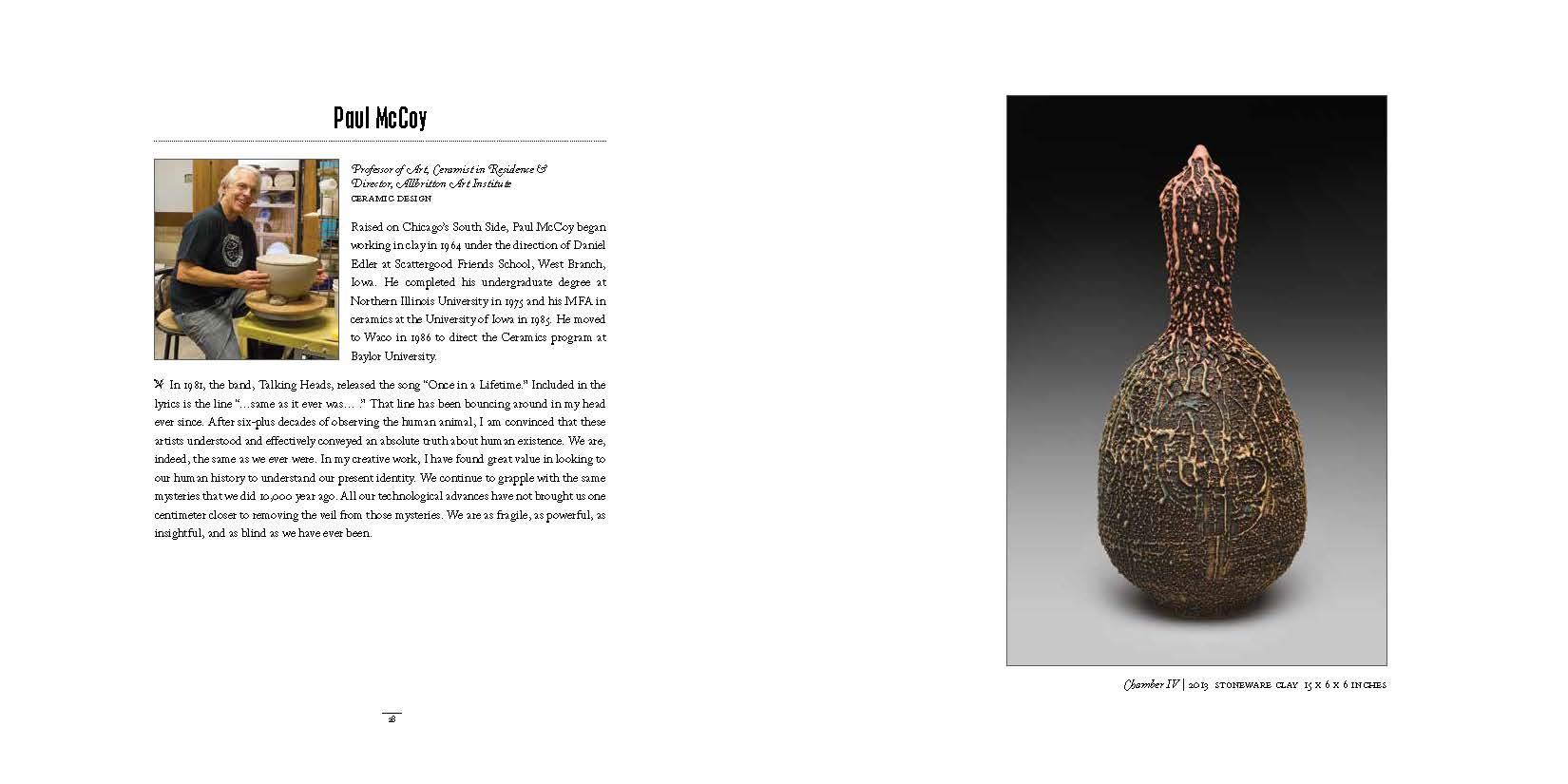 2014 Dept of Art Faculty Biennial Exhibition Catalog_Page_15