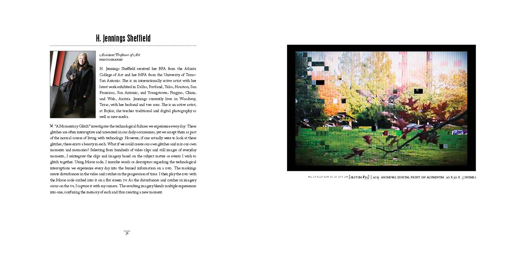 2014 Dept of Art Faculty Biennial Exhibition Catalog_Page_19