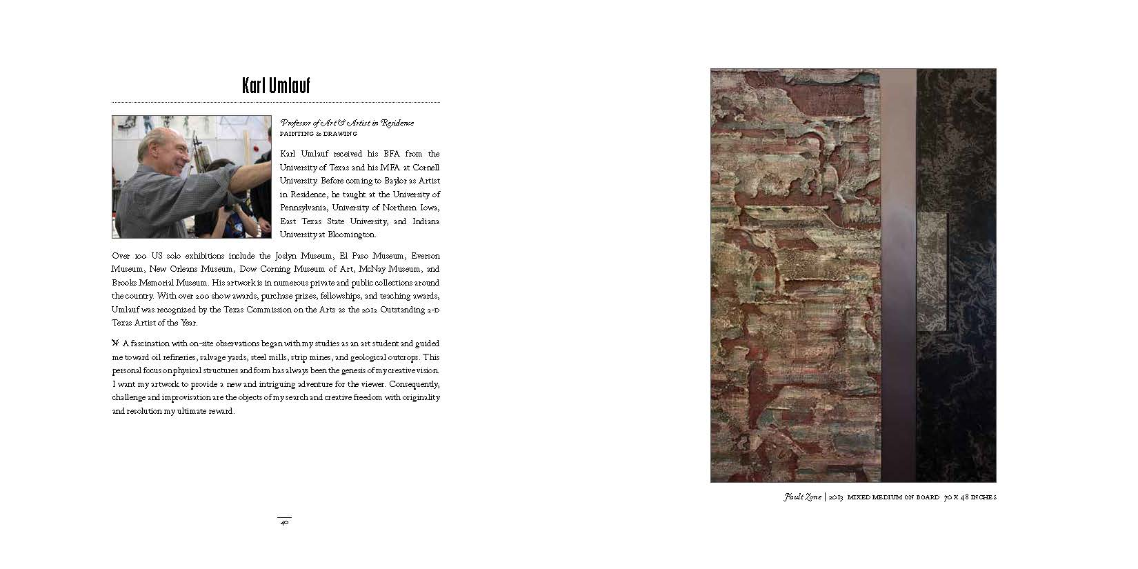 2014 Dept of Art Faculty Biennial Exhibition Catalog_Page_21