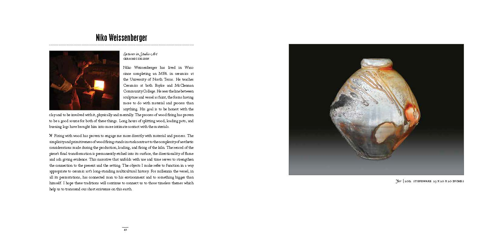 2014 Dept of Art Faculty Biennial Exhibition Catalog_Page_22