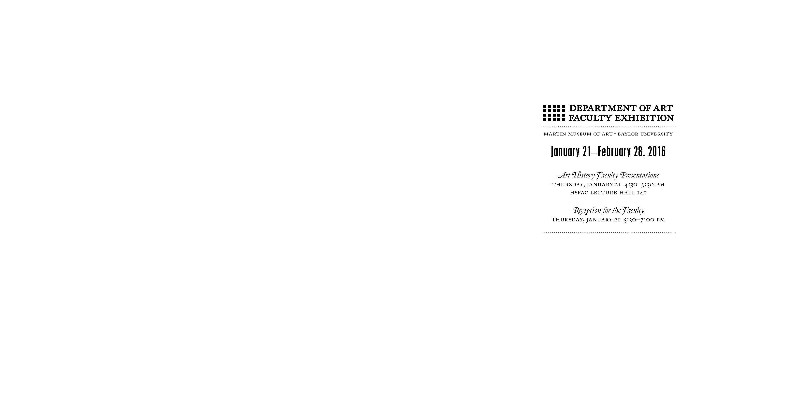 2016 Dept of Art Faculty Biennial Exhibition Catalog_Page_02