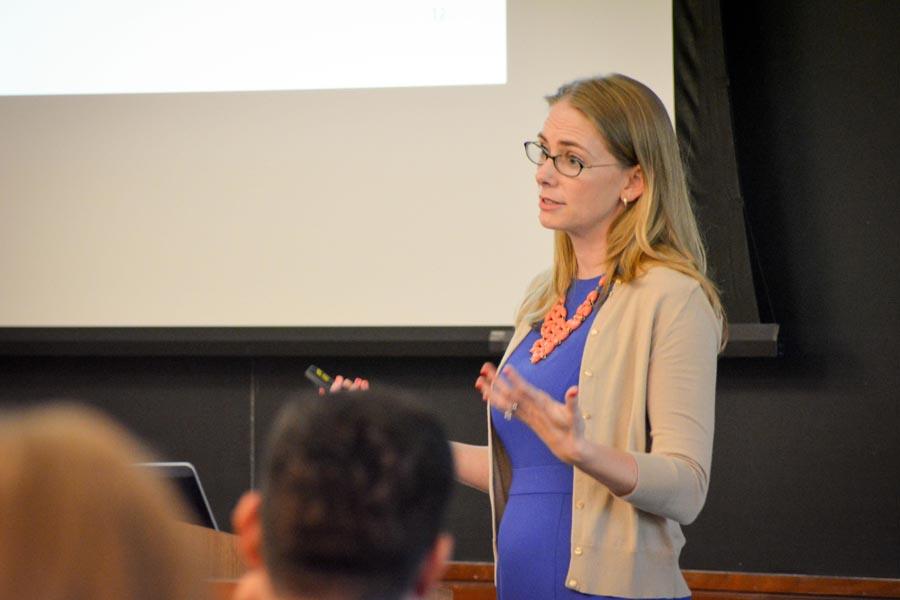 Molly Duckworth teaches