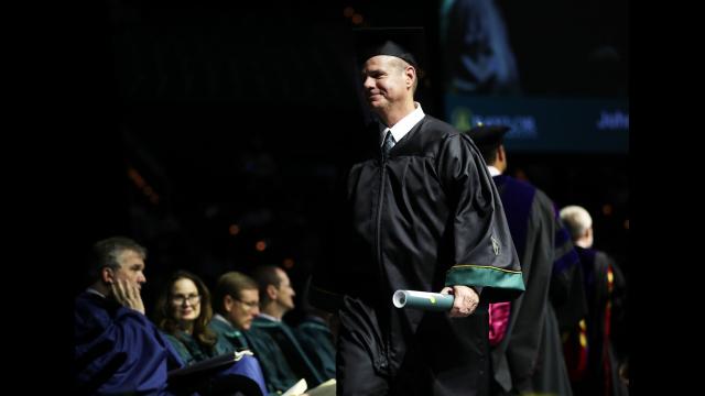 Kevin Harmon diploma