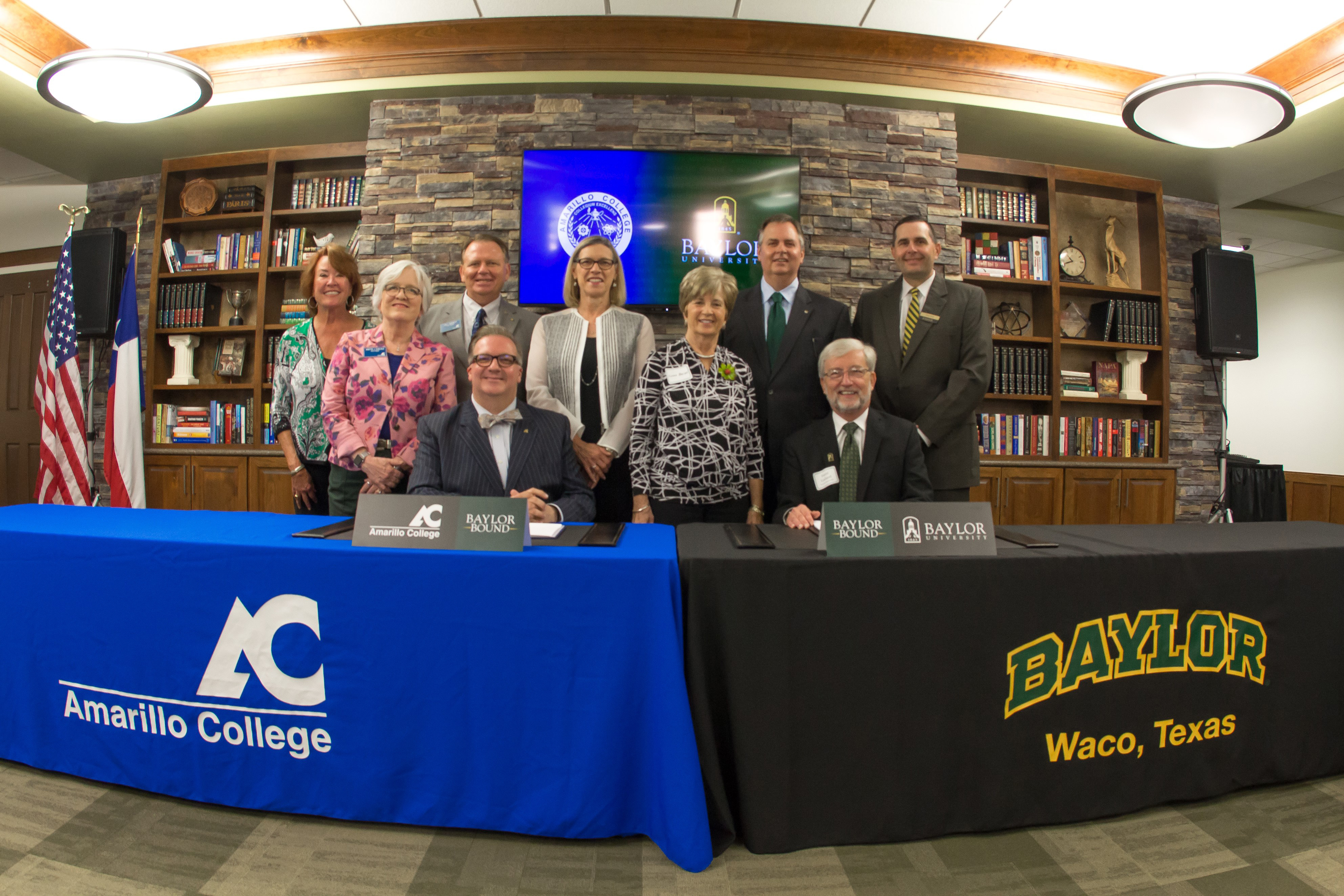 Baylor University And Amarillo College Announce Partnership On New