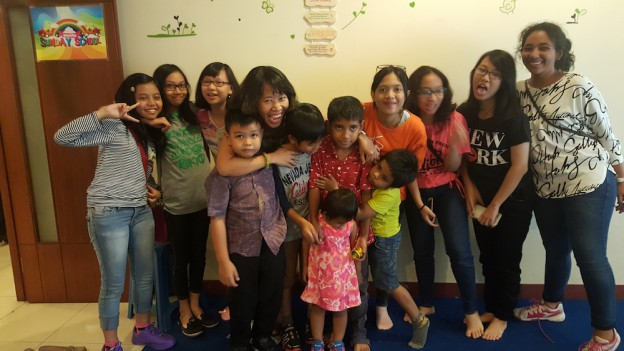 Dyen with Sunday School Class