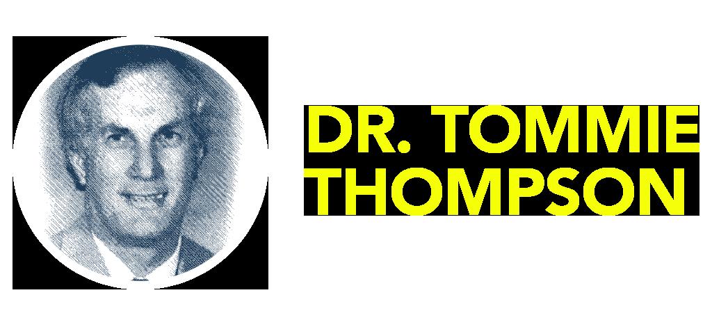 A Fond Farewell: Dr. Tommie Thompson