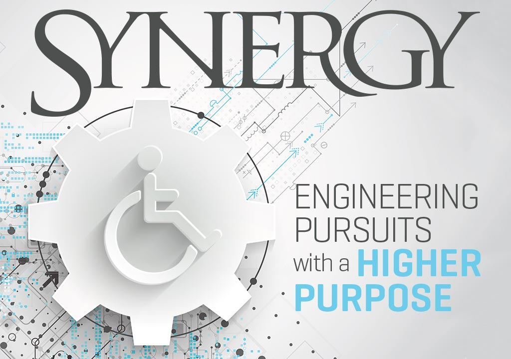 Synergy 2017 Cover - Engineering Pursuits with a Higher Purpose