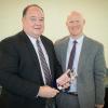 Judge Brad Cates, JD '80, Receives Outstanding Mentor Award