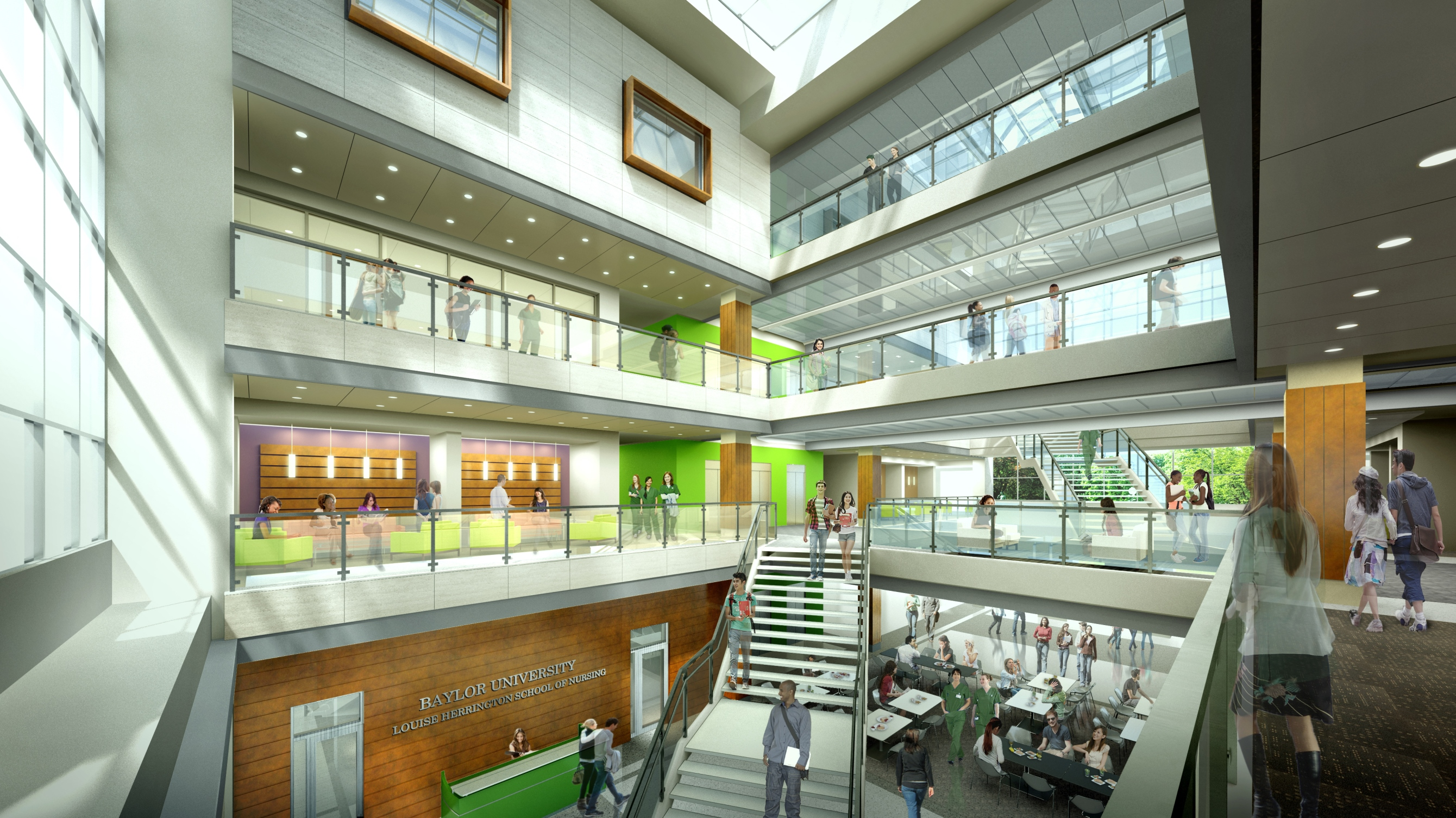Baylor university nears fundraising goal for louise - Interior design schools in alabama ...