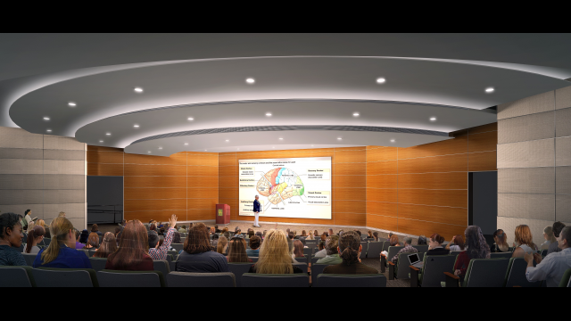 LHSON Rendering Auditorium