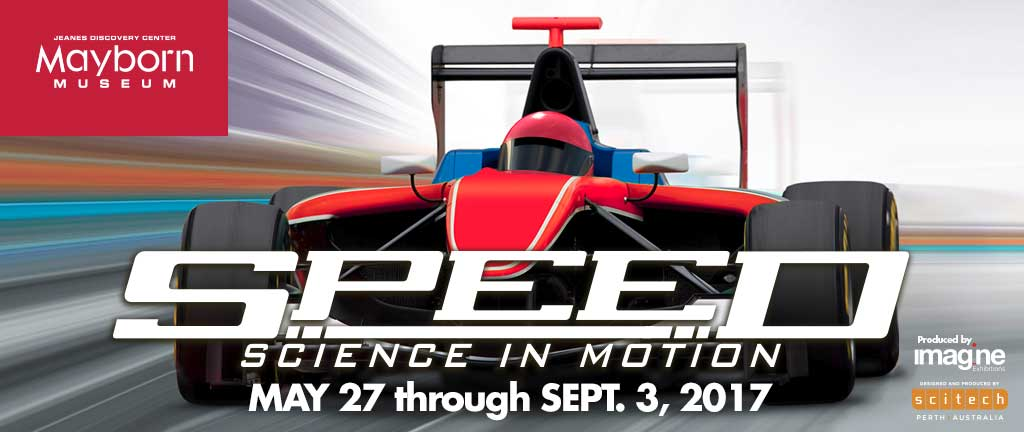 Mayborn Museum exhibit Speed: Science in Motion May 27-September 3