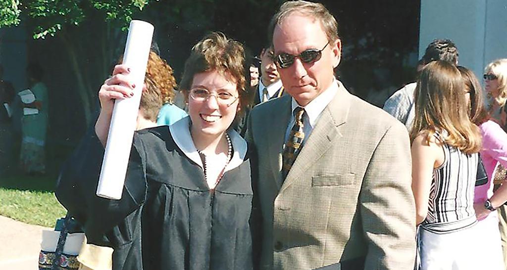 Kip Gilliland with daughter Hannah