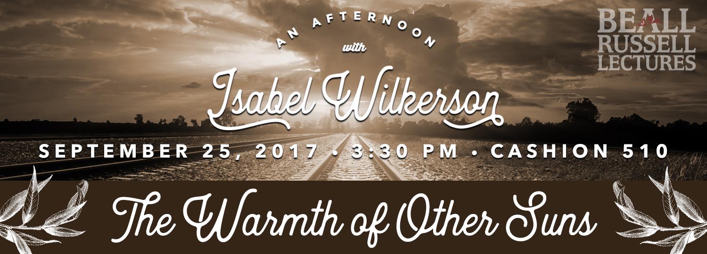 ISABEL WILKERSON 2017