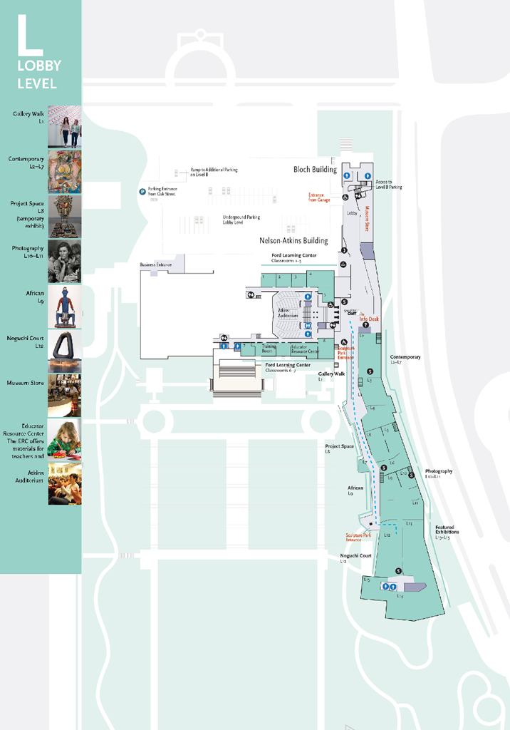 Nelson-Atkins Museum Visitor Information Redesign
