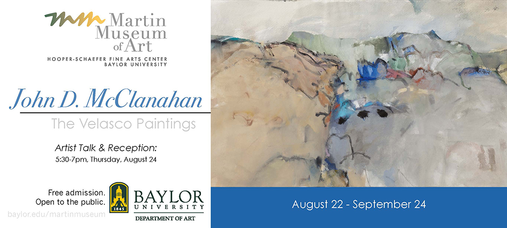 Martin Museum Presents John D. McClanahan Velasco Painting