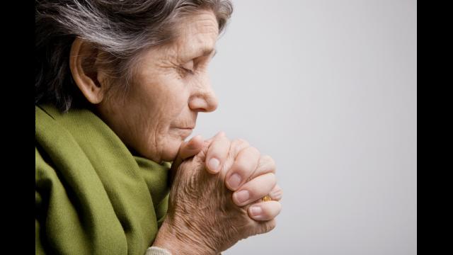 Older and prayer