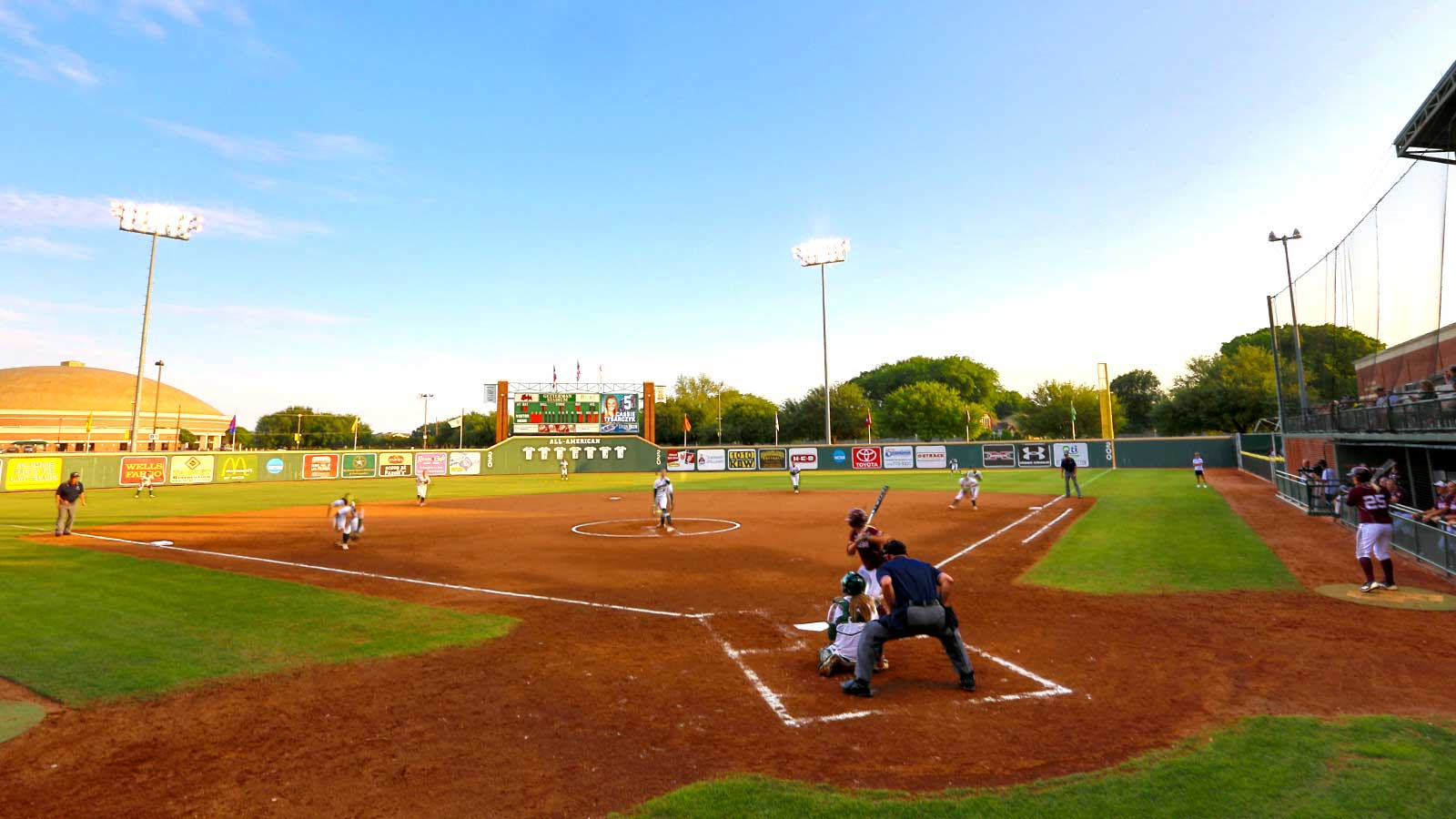 Getterman Stadium opened in 1999 and houses one of the nation's premier collegiate softball programs.