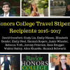 Honors College celebrates accomplishments of Travel Stipend recipients