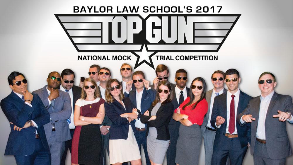Stylized portrait of Top Gun team