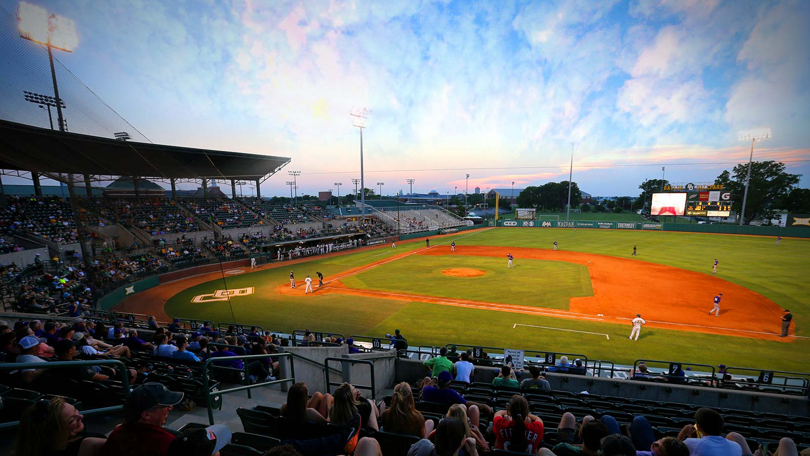 Opened in 1999, Baylor Ballpark (part of the Turner Riverfront Complex) is one of the finest collegiate baseball facilities in the nation.