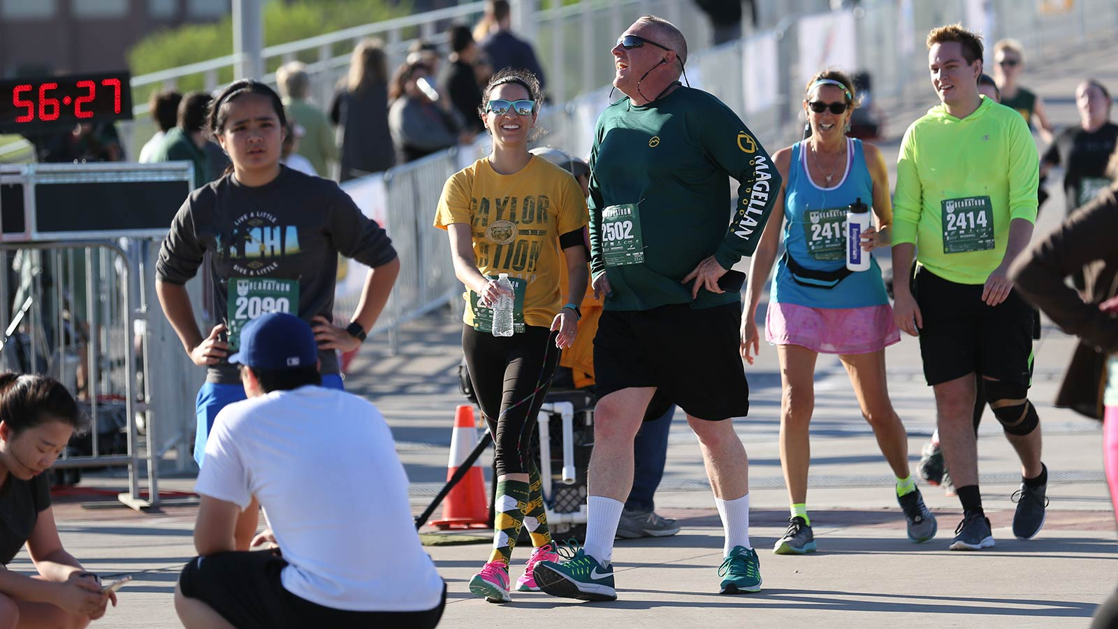 The Bearathon has earned a reputation as the The Toughest Half-Marathon in the State of Texas.