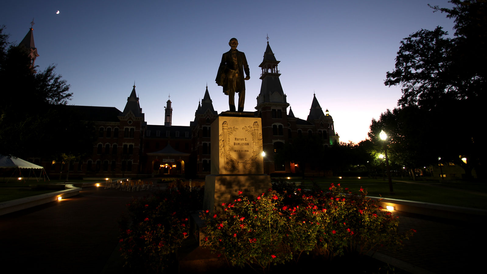Few locations at Baylor are more beautiful or more photographed than Burleson Quadrangle.