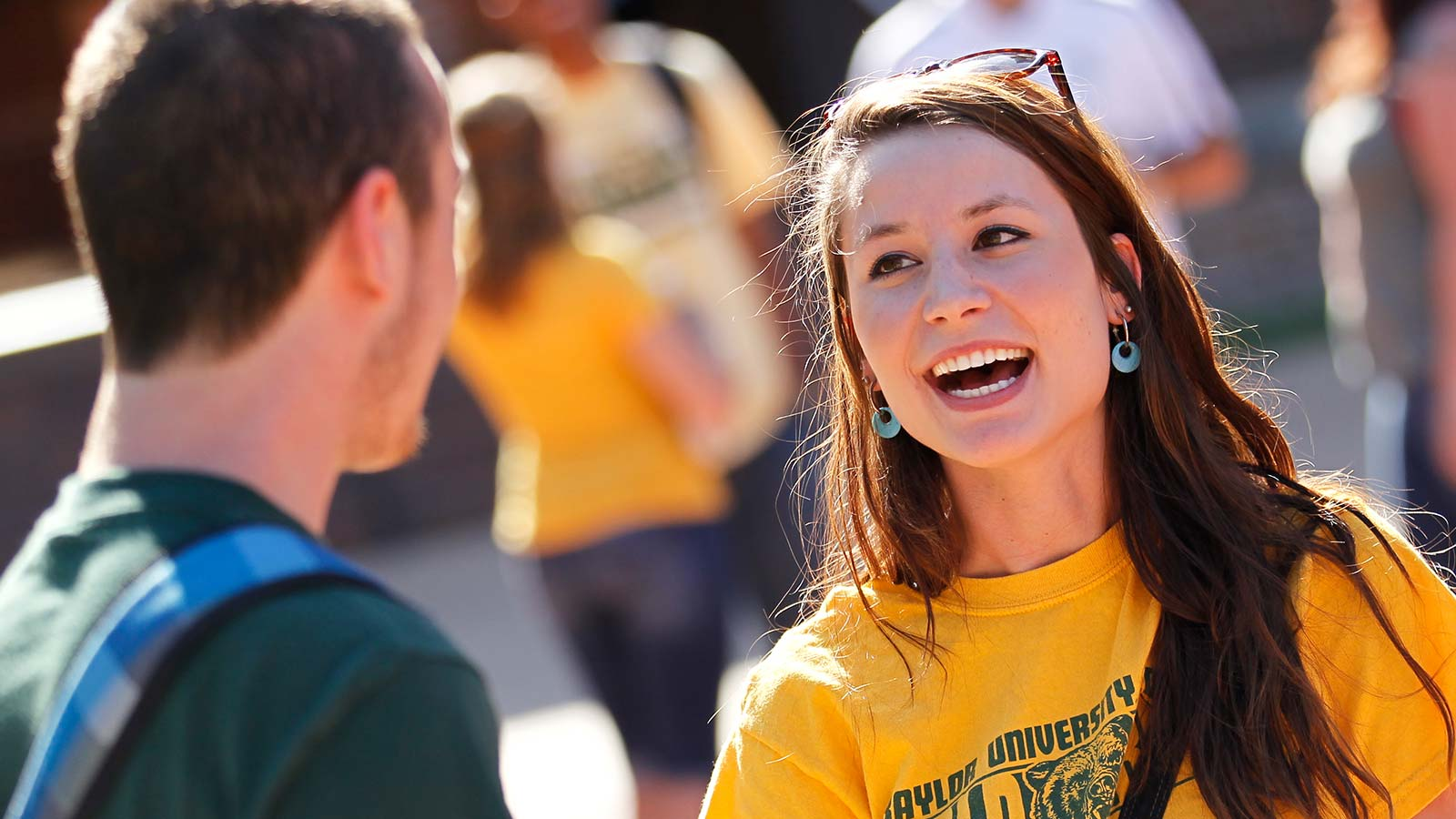 Baylor is large enough to offer the academic challenge students need and small enough to care about each student as an individual.