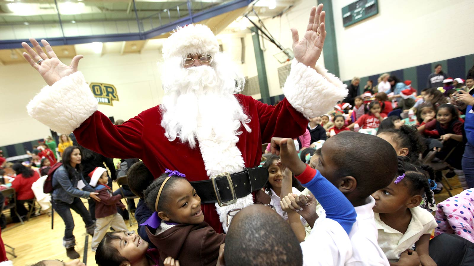 Santa's Workshop is an event to provide an uplifting Christmas experience for children from the Waco community.
